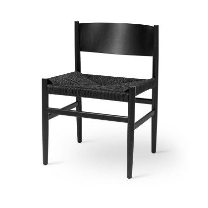 Nestor Chair - Black Stained Beech Image