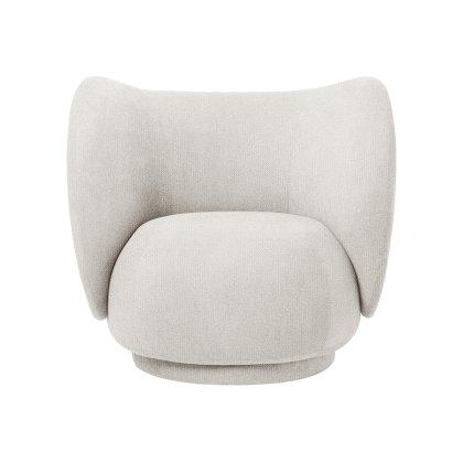 Rico Lounge Chair - Bouclé Image