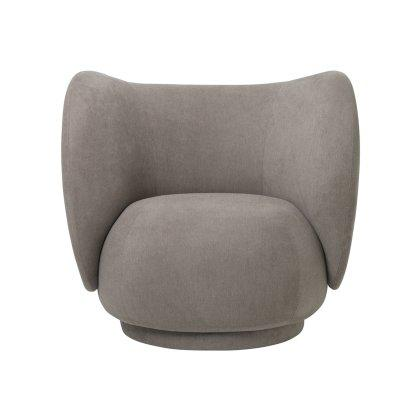 Rico Lounge Chair - Brushed Image