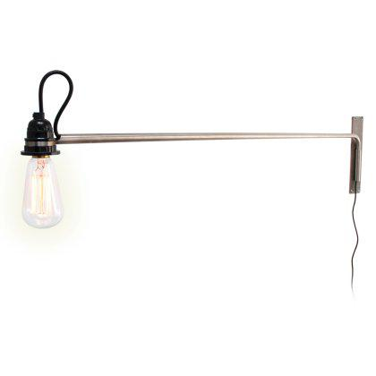 Vintage Swing Arm Lamp Image