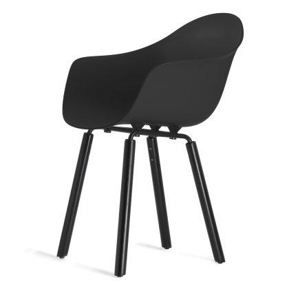 Ta Arm Shell Chair - Yi Base Image