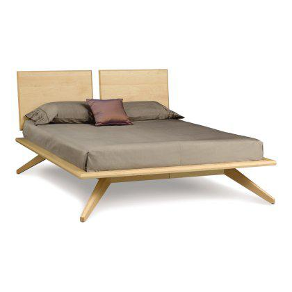 Astrid Platform Bed with 2 Adjustable Headboards Image