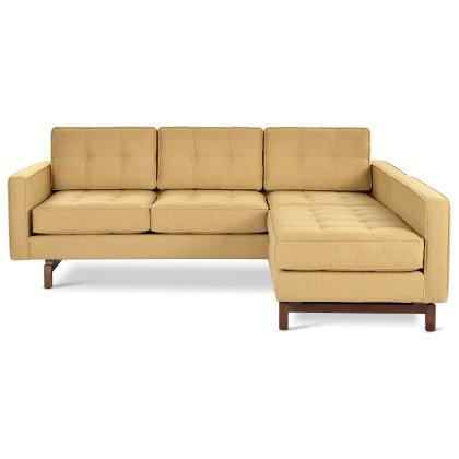 Jane 2 LOFT Bi-Sectional Sofa Image