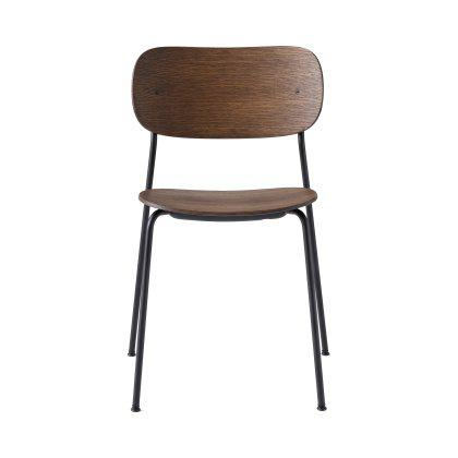 Co Chair, Wood Seat Image