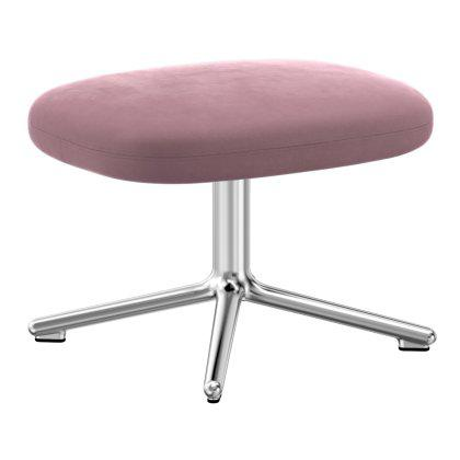 Era Footstool - Aluminum Swivel Base Image