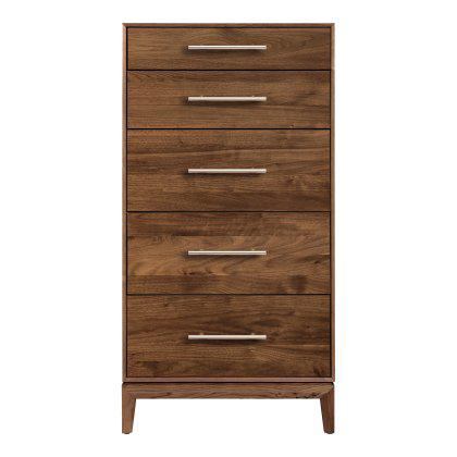 Mansfield 5 Drawer Dresser - Narrow Image