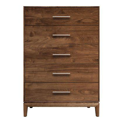 Mansfield 5 Drawer Dresser - Wide Image