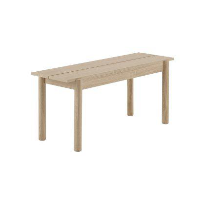 Linear Wood Bench Image