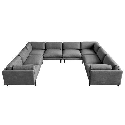 Silverlake U-Shaped Sectional Image