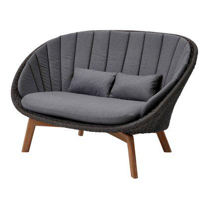 Peacock 2 Seater Sofa, Cane-line Soft Rope Image