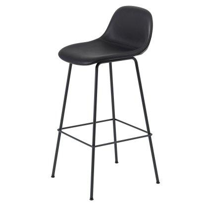 Fiber Bar Stool Tube Base W. Backrest Image