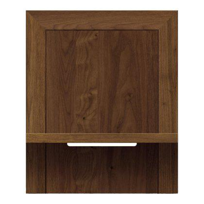 "Moduluxe Shelf Nightstand for Plinth Base Bed 29"" Image"
