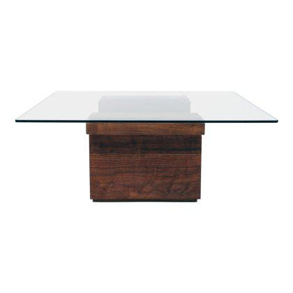 SQG 38 Square Glass Top Table Image