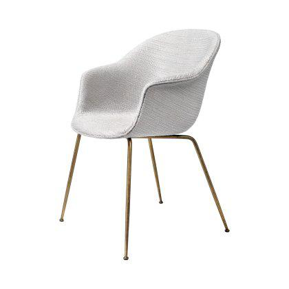 Bat Dining Chair - Fully Upholstered, Conic Base Image