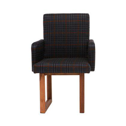 C2 W Houndstooth Armchair Image