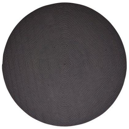 Defined Round Outdoor Carpet Image