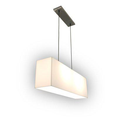 White Hanging Lamp Image