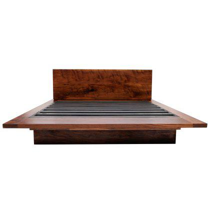 SQB Bed Walnut Image