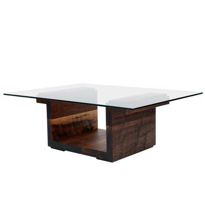 "SQG 42"" Rectangular Glass Center Table Image"