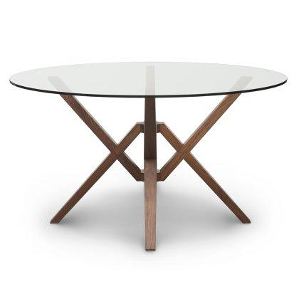 Exeter Round Glass Top Table Image
