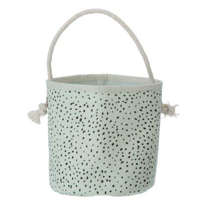 Mint Dot Basket Mini Image