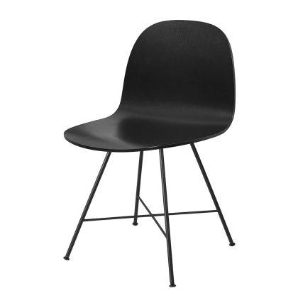 Gubi 2D Dining Chair - Center Base Image
