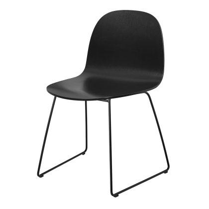 Gubi 2D Dining Chair - Sledge Base Image