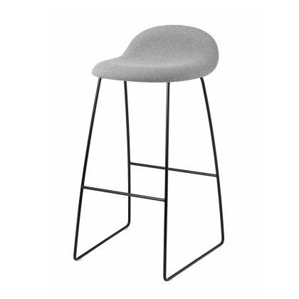 Gubi 3D Counter Stool - Sledge Base Fully Upholstered Image