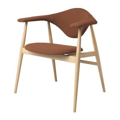 Masculo Dining Chair - Wood Base Image