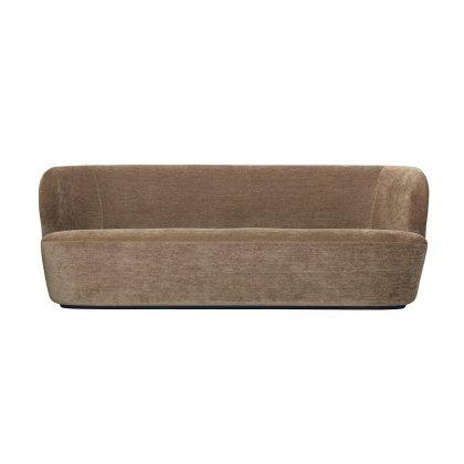 Stay Three Seater Sofa - Black Base Image