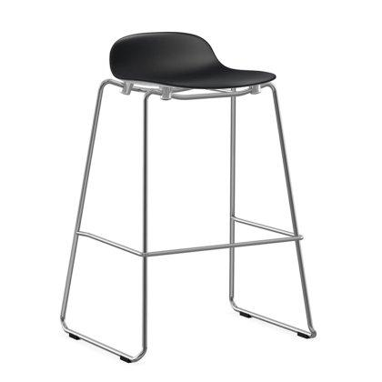 Form Barstool - Stacking Chrome Image
