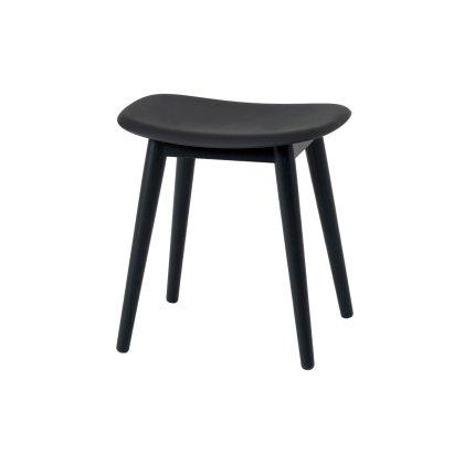 Fiber Stool Wood Base Image