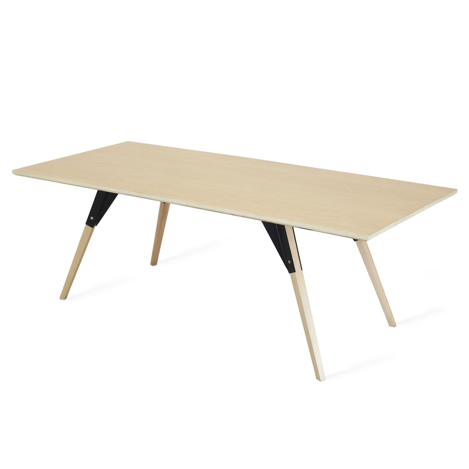 - Clarke Coffee Table Thin Rectangle Tronk Design Rypen