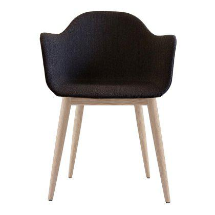 Harbour Upholstered Chair with Wood Legs Image