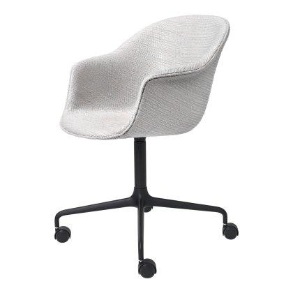 Bat Meeting Chair - Fully Upholstered, 4 Star with Castors Image