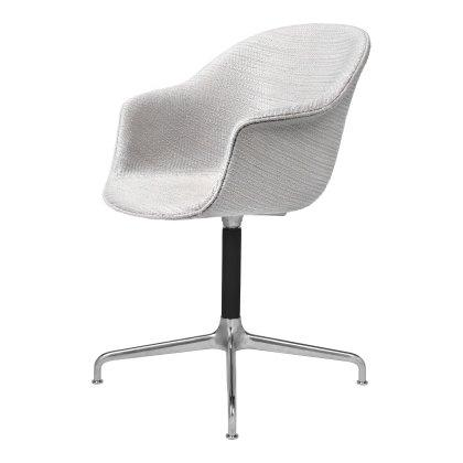 Bat Meeting Chair - Fully Upholstered, 4 Star Base Image