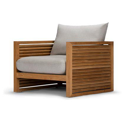Louver Arm Chair Image