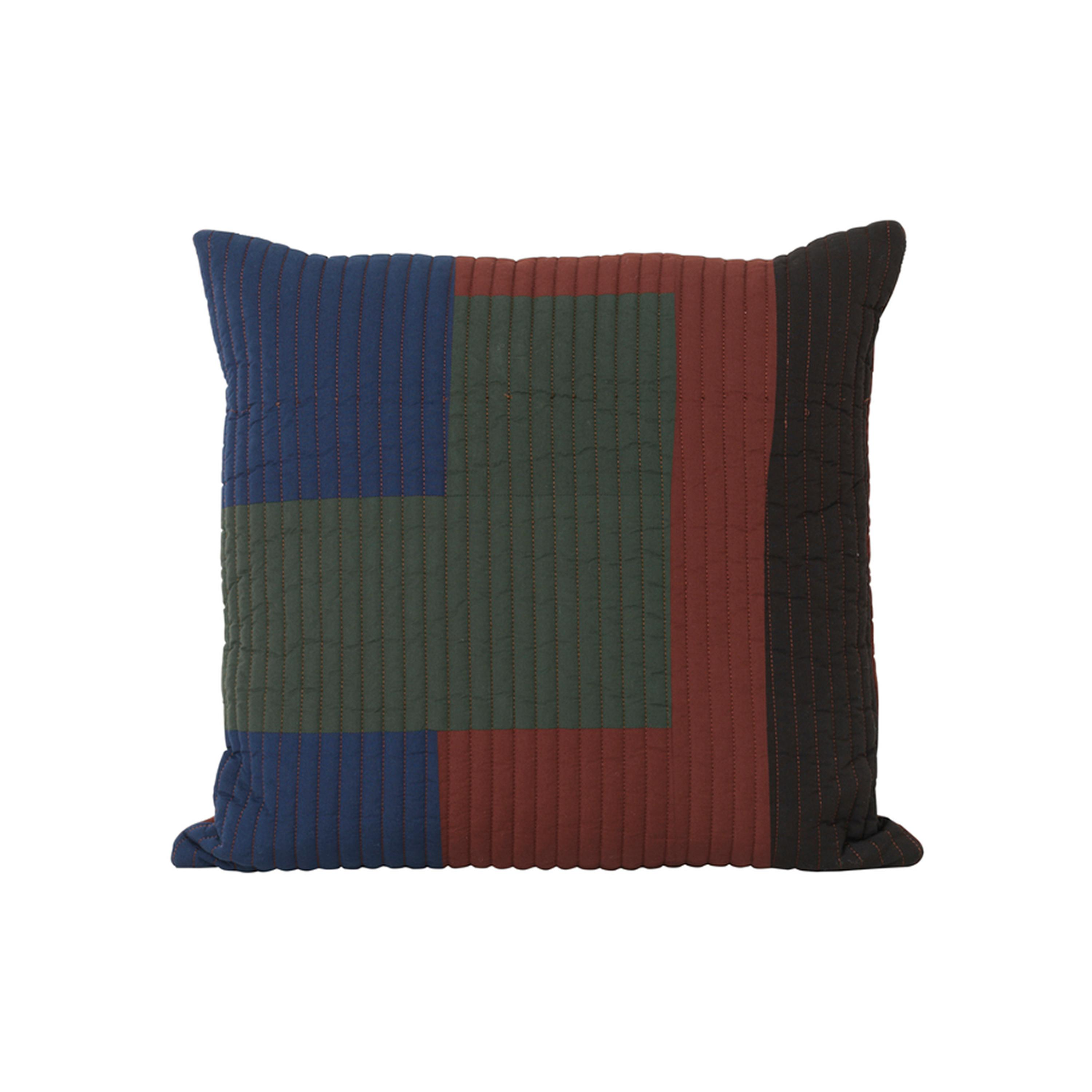 Shay Patchwork Quilt Cushion   50 X 50