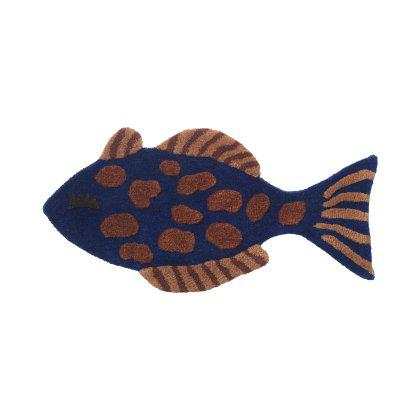 Tufted Wall/Floor Deco - Fish Image