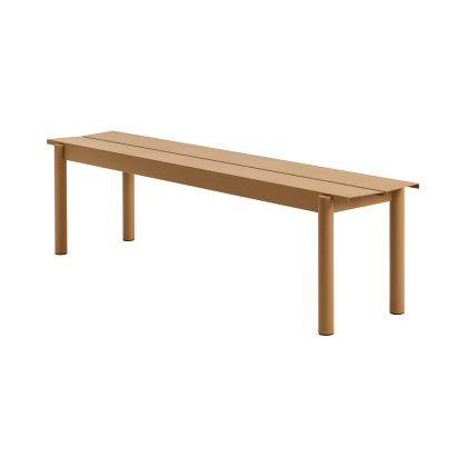 Linear Steel Bench Image