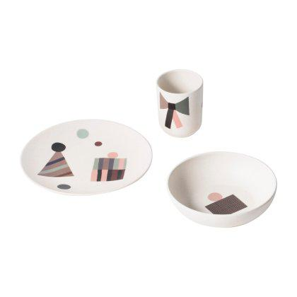 Bamboo Dinner Set Image